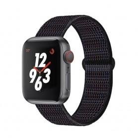 DrPhone AWB - Apple Watch Bandje - 42mmDrPhone A - 44mm - Zwart