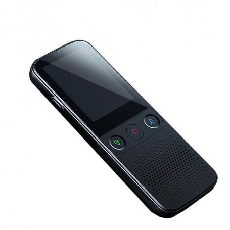 DrPhone Worldvoice 2 - 137 Talen - Smart Voice - Business Travel - Offline Vertaling - Smart Camera - Zwart/Grijs