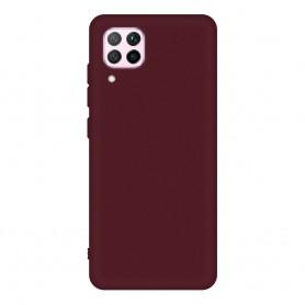 DrPhone HPP40 - Huawei P40 - Zachte silicoon - Matte Rood - Telefoon hoes - Antislip grip - TPU