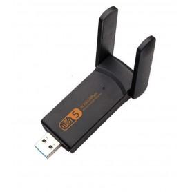 DrPhone W5 Pro® - Wifi Adapter - Dongle - Dual Band - AC 1900mbps - 100M Wireless Transmissie - Mac / Windows / Linux + Driver