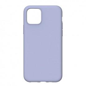 DrPhone IPS1 - Siliconen - Beschermhoes - Anti Vingerafdruk - iPhone 11 - Paars