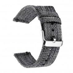 DrPhone SMB03 - Smart Watch Bandje - Gesp Sluiting - 20mm - Grijs