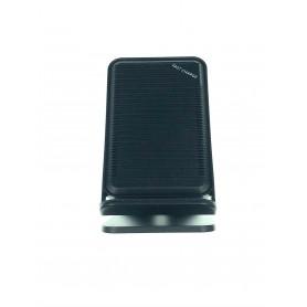 DrPhone 2COILS - Draadloos Opladen – 10W - 1.5 Times Faster – Led Licht - Micro USB – Zwart