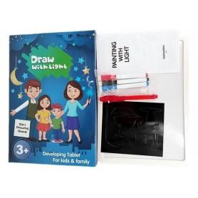 DrPhone LightTable - Lichtgevende tekentafel - Speelgoed - A5 - Stift met Led-licht