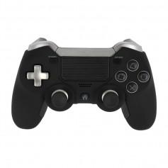 DrPhone DSB01 Pro – Draadloze Playstation 4 Controller – Ergonomisch – Trilfunctie - Extra Knoppen - Zwart