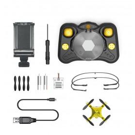 DrPhone SGMini - Pocket Drone Wifi - Voor Kids / Kinderen - Mini Bestuurbare Drone + Afstandsbediening
