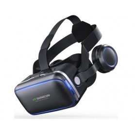 Shinecon® 6.0 Pro - 3D Virtual Reality Bril IMAX 3D - Ingebouwde VR Hoofdtelefoon - IOS/Android