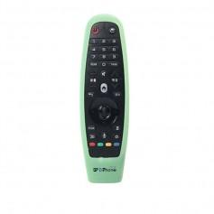 DrPhone LG OLED Magic Remote Afstandsbediening Siliconen Hoes - Cover voor LG Smart Tv Afstandsbediening AN-MR600 / MR650 -Groen