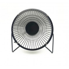 DrPhone MTH1 – 6 Inch – 220 V/220 W – Elektrische Mini Heater – Kachel – Draagbare Verwarmer – Zwart