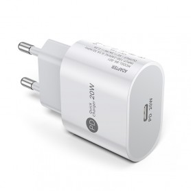 DrPhone PD Lunar - 20W Thuislader- Oplader 5V 3A / 9V 2.2A/12V 1.6A - voor o.a iPhone 12/ 12 Pro / 12 MAX /iPad etc