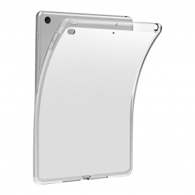 DrPhone PIP1 – Zachte Siliconen TPU – iPad 10.2 Inch – Doorzichtig – Cover Case