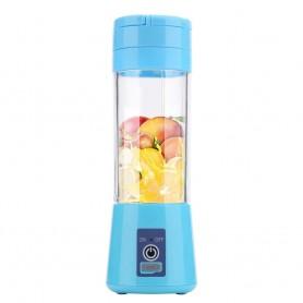 DrPhone DB1 Draagbare Blender - Juicer Cup – Fruitmix met 2000 mAh batterij - 380ml - 180W – Blauw