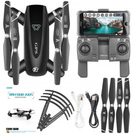 UXWALLET TT Pro - GPS Drone – 30km/h - 210 Gram - Afstandsbediening – 5Ghz – 4K Camera - Foto - Applicatie + Afstandsbediening