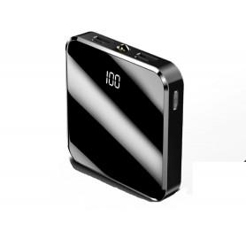 DrPhone PBM2 - 20.000mAh - Powerbank – Draagbare oplader – 2xUSB 2A/2.1A – 2x input Micro USB & UBC C – LED Display & Led licht