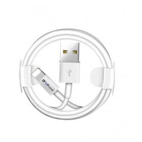 DrPhone® - Gecertificeerde 2 Meter Lightning naar USB kabel - 8-pin Oplaadkabel - Veilig Laden - Voor Apple iPhone / iPad / iPod