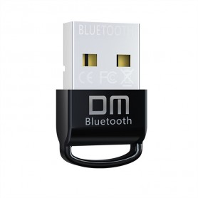 DrPhone DM30 Mini Bluetooth 5.0 Dongle Adapter - 10 tot 20m bereik– Datatransmissiesnelheid tot 3Mbps - Zwart