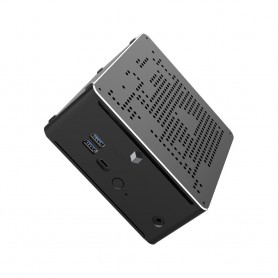 Elementkey iON2 - Mini PC - i5-9300H - 4.1 Ghz - Computer - 8GB RAM + 128GB NVME SSD + 1TB HDD - WINDOWS 10 - WiFi - Bluetooth