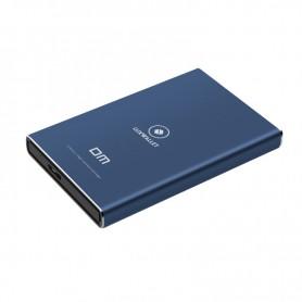 LUXWALLET 2.5 inch SATA naar Micro B 3.0 SSD Externe Harde Schijf Behuizing - Ondersteuning van 7 mm / 9 mm SSD harde schijven