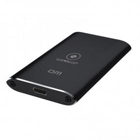 LUXWALLET MSATA SSD USB 3.0 naar Type-C 3.1 SSD Externe Harde Schijf Behuizing - Ondersteuning van mSATA SSD 18pins/8pins - 5GBS
