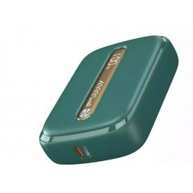 DrPhone MNI Powerbank – Externe Batterij – 2 apparaten tegelijk – Compact- 10000 mAh – Groen