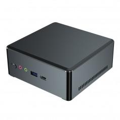 Elementkey RX1 - AMD Ryzen R3 2200U - 8GB Ram - 128GB SSD + 1TB HDD + Windows 10 + Mini PC - Computer - Zwart