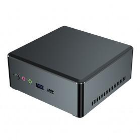Elementkey RX1 - AMD Ryzen R5 3350H - 16GB Ram - 256GB SSD + 1TB HDD + Vega 8 - Windows 10 + Mini PC - Computer - Zwart