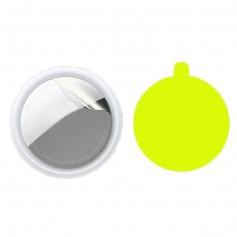 DrPhone SP1 - Screenprotector geschikt voor Airtags - Anti-Kras - Ultra heldere ronde glas