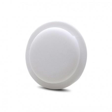 DrPhone AE5 Pro – Zachte siliconen - Hoesje – Beschermhoes – Plakbaar – Geschikt voor Apple Airtag - Wit