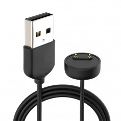 DrPhone XMB2 Magnetische Oplaadsnoer - Kabel - USB-oplader Geschikt voor Xiaomi Mi Band 5 & 6 - Zwart
