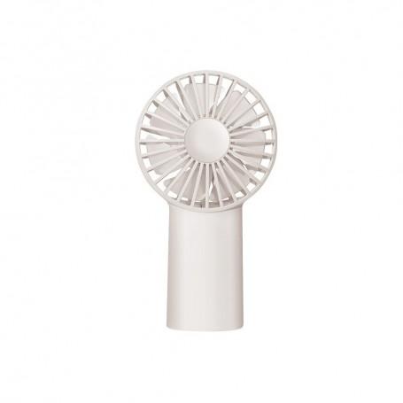 DrPhone MNI Ventilator – Draagbare Ventilator – Opladen met USB – Aromatherapie – Compact – Wit
