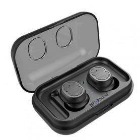 DrPhone WSH1 – Draadloze Stereo Oordoppen – V5.0 – Waterdicht – Touch Control – Zwart