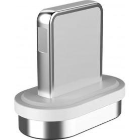 DrPhone ECHO Series Magnetisch Bitje (PLUG) - Lightning Losse Magnetische koppelstuk - Geschikt voor Apple iPhone en iPad