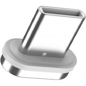 DrPhone Echo Series Magnetisch Bitje (PLUG) - USB-C Losse Magnetische koppelstuk - Geschikt voor Samsung