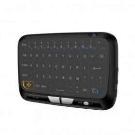 DrPhone DMT Toetsenbord – Draagbare Mini Toetsenbord – Draadloos – QWERTY Toetsenbord – 2.4 Ghz – Zwart