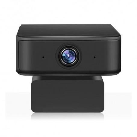 DrPhone WC5 USB Web Cam 2MP - 360 Ai intelligente opnamen - Automatisch Volgen -1080P Full HD Met Microfoon - Zwart