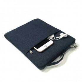 DrPhone S05 Tablet Beschermhoes tot 11 inch – Sleeve met handvat - Geschikt voor o.a Tab 10,1 inch 2019 / iPad 7 10,2 - Roze