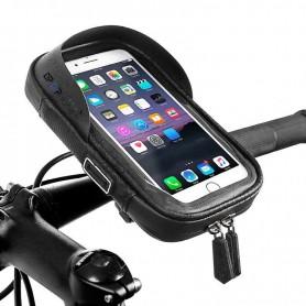 DrPhone THX Telefoon Houder – Mobiele Ondersteuning – Waterdicht – Compact – 6 inch – Zwart