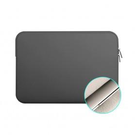 S01 DrPhone 15 inch Soft Sleeve Beschermhoes – Draagtas hoes – Tablet hoes – Pouchbag – Grijs