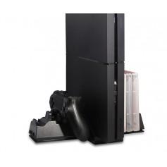 DrPhone MCS – Multifunctionele Oplaad station – Geschikt voor PS4 Slim en PS4 PRO – Zwart
