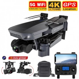 LUXWALLET SG-ProX2 Drone – 4K HD Sony Camera 8MP – 2-Assige Gimbal Stabilisator – Qualcomm Chip - 50x Inzoomen – GPS - 5Ghz