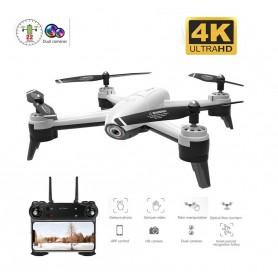 DrPhone - Drone 106G - 2x 4K Camera 3840x2160p Follow - Me Functie - Remote + App Controle + 2 Accu's + Afstandsbediening