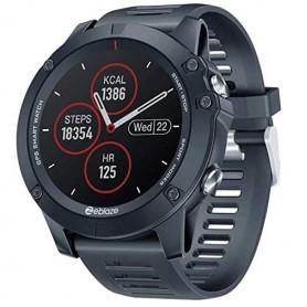 DrPhone Vibe3 GPS SmartWatch/Activity Tracker met 1,3-inch IPS-kleurenscherm - 280mAh-batterij - Zwart