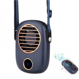 DrPhone FHN – Hals Ventilator – Draagbaar – Inclusief Nek Band – USB Oplaadbaar – Blauw
