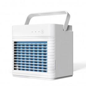 DrPhone AIRX13 – Draagbare Airco - Opladen met USB – Koude lucht met Watermoleculen -Wit