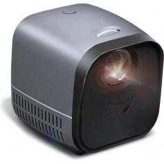 Elementkey PiX Beamer – 1080P Full HD - 5W Speaker - 1000 LUMEN - Kids Mini Projector - Zwart / Grijs