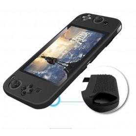 DrPhone Nintendo Switch Siliconen Case – Anti-Slip – Slim Design - Zwart