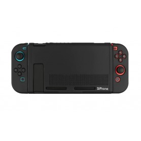 DrPhone RSC Siliconen Case - Rubber Cover - Beschermhoes -Geschikt voor Nintendo Switch – Afneembare functie voor Joycons