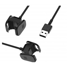 DrPhone - USB Oplaadkabel Adapter - Lader - Geschikt voor Charge 3 & Fitbit Charge 4 -100cm Kabel