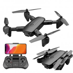 LUXWALLET SG PROX5 - 30Km/h - 200 Gram - Full HD 1080P Camera - Geen vliegbewijs - 2MP - Drone - Quadcopter - RC + 2x Accu