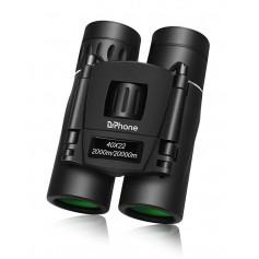 DrPhone V8 Mini Verrekijker - 40x22mm - BAK4 -FMC coating - Geschikt voor o.a Reizen / Vogels kijken / wandelen etc -Zwart